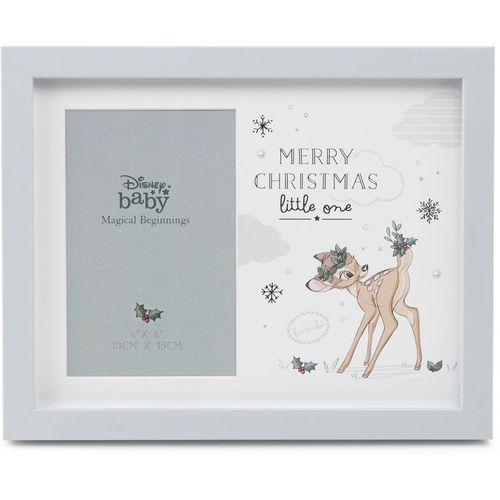 "Disney Magical Begininings Photo Frame 4"" x 6"" - Merry Christmas Little One (Bambi)"