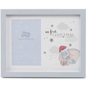 "Disney Magical Beginnings Photo Frame 4"" x 6"" - My First Christmas (Dumbo)"