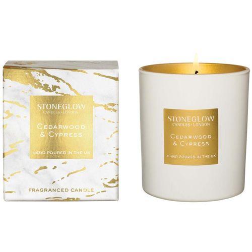 Stoneglow Candles Luna Tumbler Candle - Cedarwood & Cypress