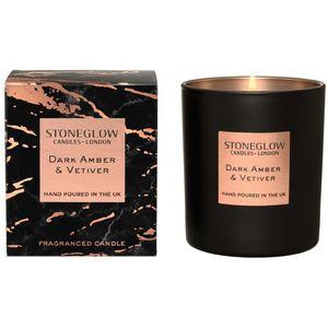 Luna - Dark Amber & Vetiver Tumbler Candle
