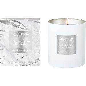 Stoneglow Candles Luna Tumbler Candle - English Pear & Freesia
