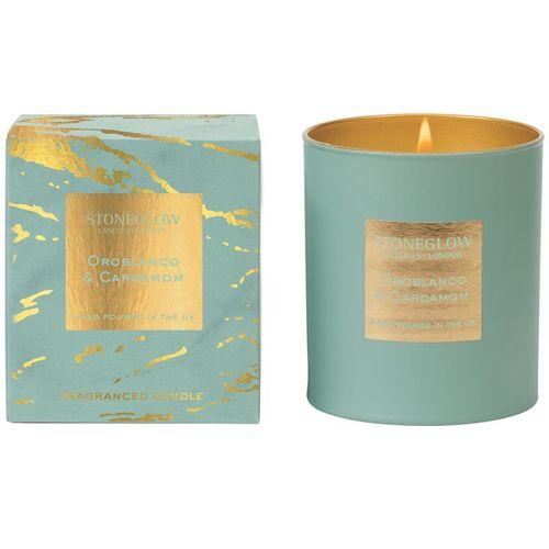 Stoneglow Candles Luna Tumbler Candle- Oroblanco & Cardamom