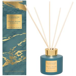 Stoneglow Candles Luna Reed Diffuser 120ml - Papyrus Woods & Jasmine