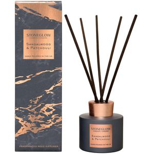 Stoneglow Candles Luna Reed Diffuser - Sandalwood & Patchouli