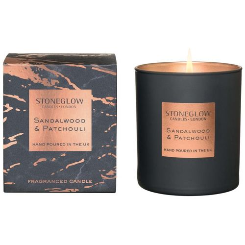 Stoneglow Candles Luna Tumbler Candle  - Sandalwood & Patchouli