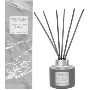 Stoneglow Candles Luna Reed Diffuser - Sweet Balsam & Cade