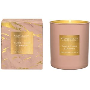 Stoneglow Candles Luna Tumbler Candle - Ylang Ylang & Amber
