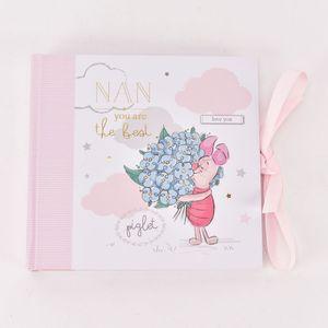 "Disney Magical Beginnings Photo Album Holds 50 4"" x 6"" Prints - Nan (Piglet)"