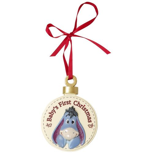 Disney Baby`s First Christmas Hanging Decoration - Eeyore