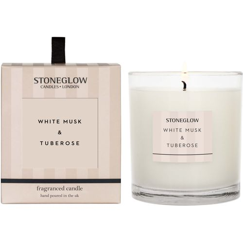 Stoneglow Candles Modern Classics Tumbler Candle - White Musk & Tuberose