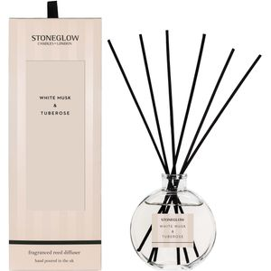 Stoneglow Candles Modern Classics Reed Diffuser - White Musk & Tuberose