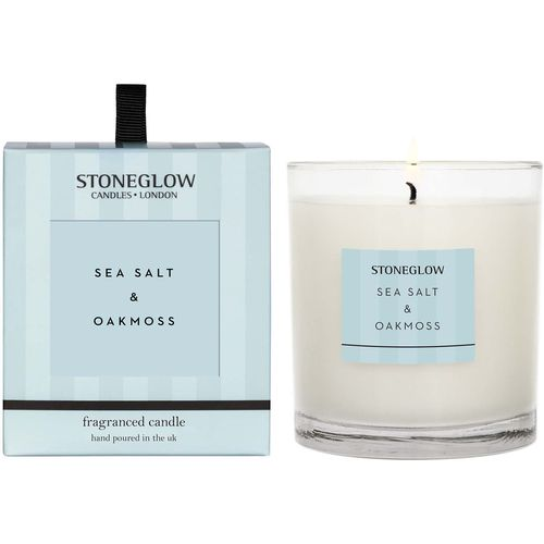 Stoneglow Candles Modern Classics Tumbler Candle - Sea Salt & Oakmoss