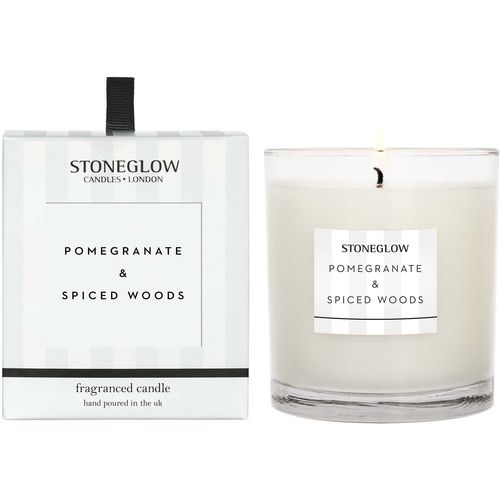 Stoneglow Candles Modern Classics Tumbler Candle - Pomegranate & Spiced Woods
