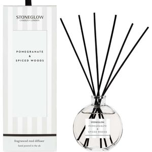 Stoneglow Candles Modern Classics Reed Diffuser - Pomegranate & Spiced Woods