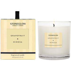 Stoneglow Candles Modern Classics Tumbler Candle - Grapefruit & Mimosa