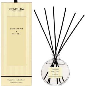 Stoneglow Candles Modern Classics Reed Diffuser - Grapefruit & Mimosa