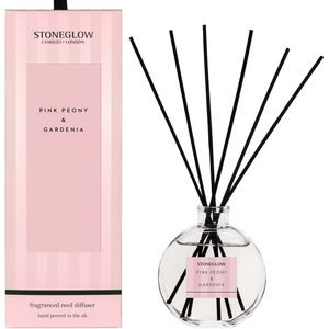 Stoneglow Candles Modern Classics Reed Diffuser - Pink Peony & Gardenia