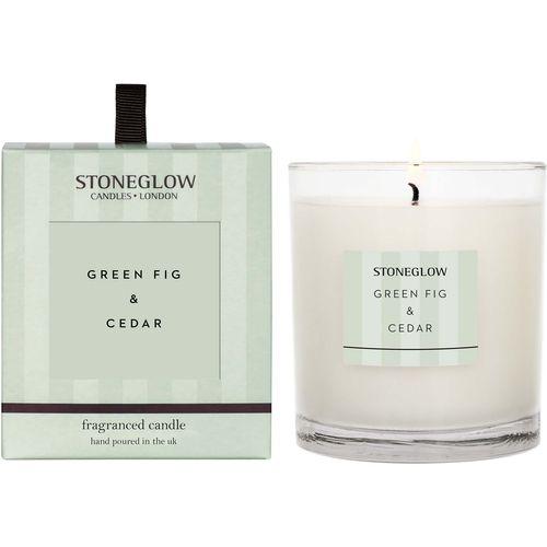 Stoneglow Candles Modern Classics Tumbler Candle - Green Fig & Cedar