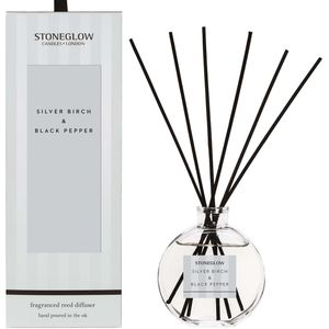 Stoneglow Candles Modern Classics Reed Diffuser - Silver Birch & Black Pepper