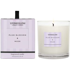Stoneglow Candles Modern Classics Tumbler Candle - Plum Blossom & Musk