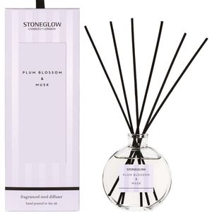 Stoneglow Candles Modern Classics Reed Diffuser - Plum Blossom & Musk