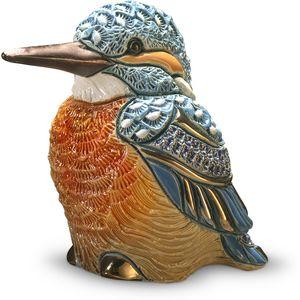 De Rosa Kingfisher Bird Figurine