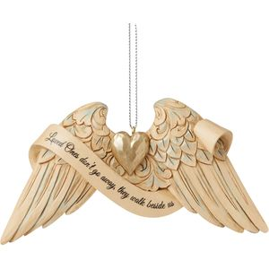 Heartwood Creek Hanging Ornament - Angel Wings: Bereavement
