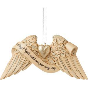 Heartwood Creek Hanging Ornament - Angel Wings: Guardian Angel