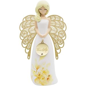You Are An Angel Floral Figurine - Friendship
