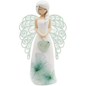 You Are An Angel Floral Figurine - Family