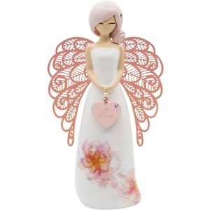 You Are An Angel Floral Figurine - Love