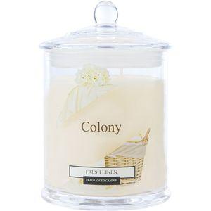 Wax Lyrical Colony Medium Jar Candle - Fresh Linen