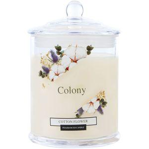 Wax Lyrical Colony Medium Jar Candle - Cotton Flower