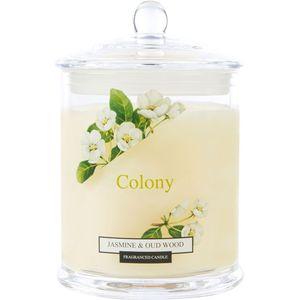 Wax Lyrical Colony Medium Jar Candle - Jasmine & Oudwood
