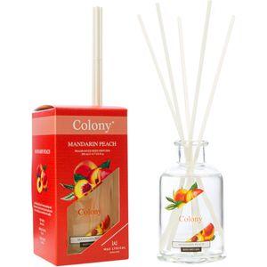 Wax Lyrical Colony Reed Diffuser 200ml - Mandarin Peach