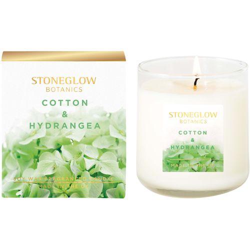 Stoneglow Candles Botanic Candle - Cotton & Hydrangea 70196