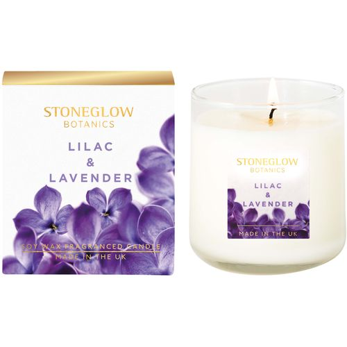 Stoneglow Candles Botanic Candle - Lilac & Lavender 70186
