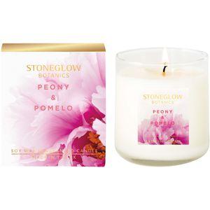 Stoneglow Candles Botanic Tumbler Candle - Peony & Pomelo