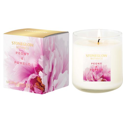 Stoneglow Candles Botanic Candle - Peony & Pomelo  70201