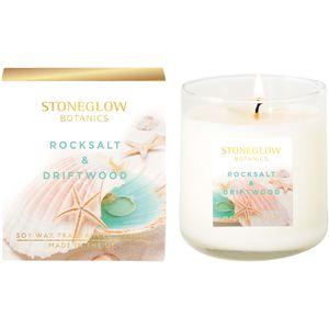 Stoneglow Candles Botanic Tumbler Candle - Rocksalt & Driftwood