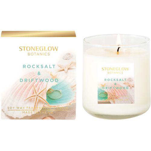 Stoneglow Candles Botanic Candle - Rocksalt & Driftwood