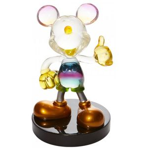 Disney Grand Jester Studios Rainbow Mickey Mouse Figurine