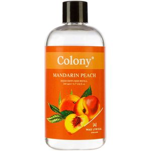 Wax Lyrical Colony Reed Diffuser Refill 200ml - Mandarin Peach