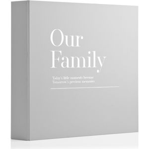 Celebrations Moments Coffee Table Photo Album - Our Family