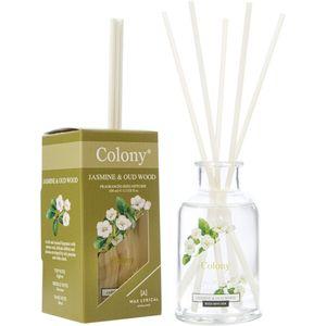 Wax Lyrical Colony Reed Diffuser 100ml - Jasmine & Oudwood