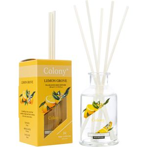 Wax Lyrical Colony Reed Diffuser 100ml - Lemon Grove