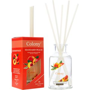 Wax Lyrical Colony Reed Diffuser 100ml - Mandarin Peach