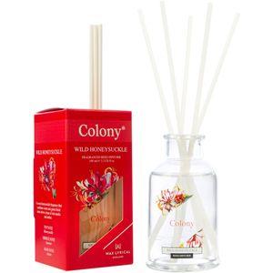 Wax Lyrical Colony Reed Diffuser 100ml - Wild Honeysuckle