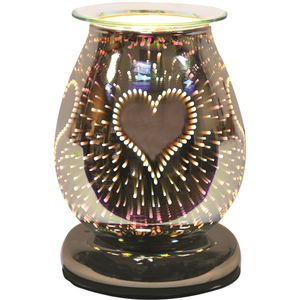 Aroma Electric Wax Melt Burner Touch - 3D Burst Heart