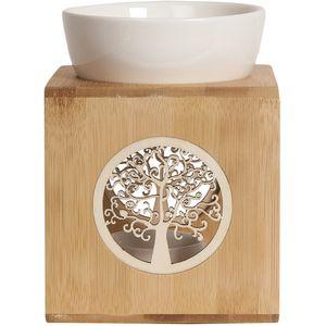 Aroma Wax Melt Burner - Zen Bamboo Tree